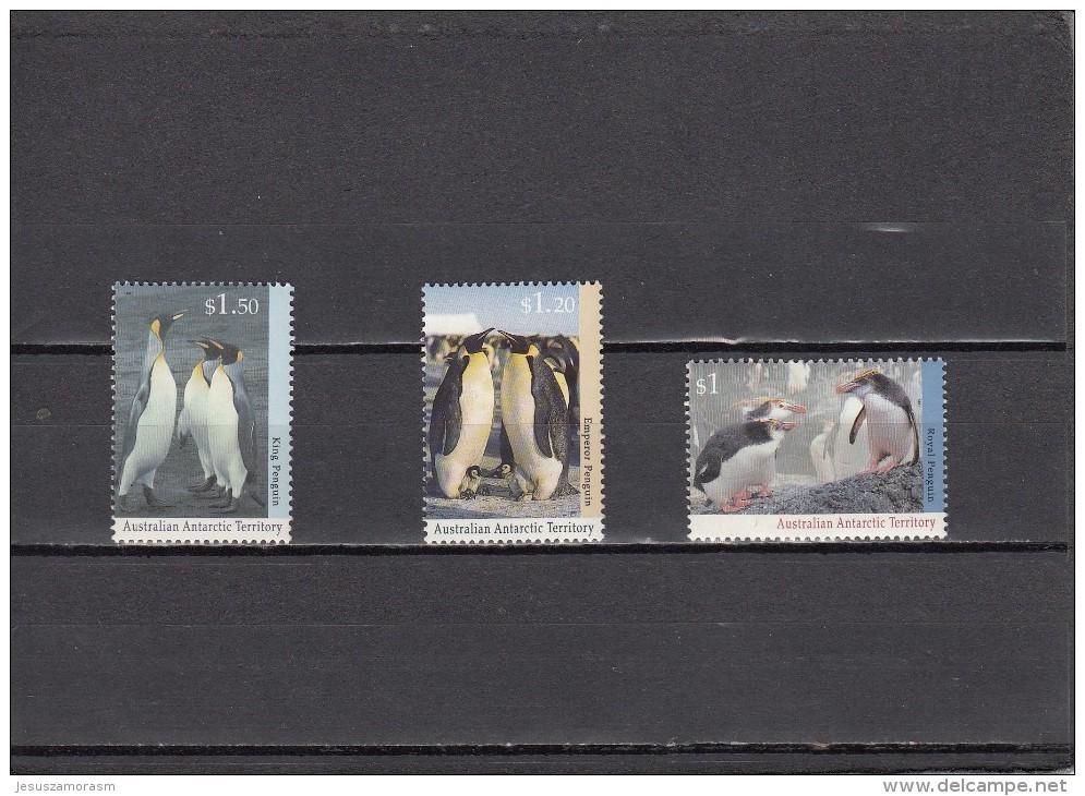 Territorio Antartico Australiano Nº 95 Al 97 - Australian Antarctic Territory (AAT)