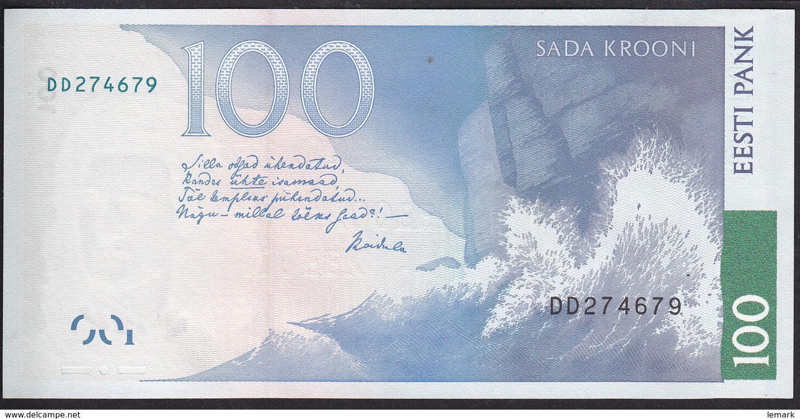 Estonia 100 Krooni  2007 P88 UNC - Estonia
