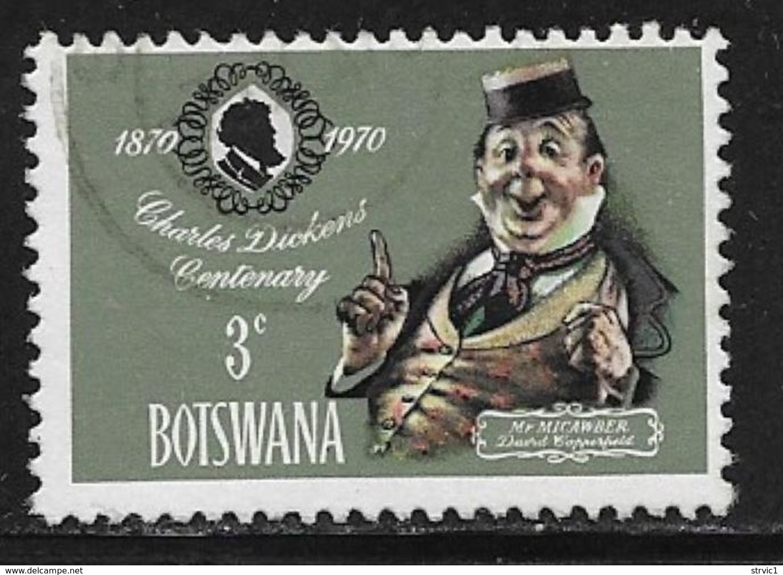 Botswana Scott # 62 Used Charles Dickins, 1970 - Botswana (1966-...)