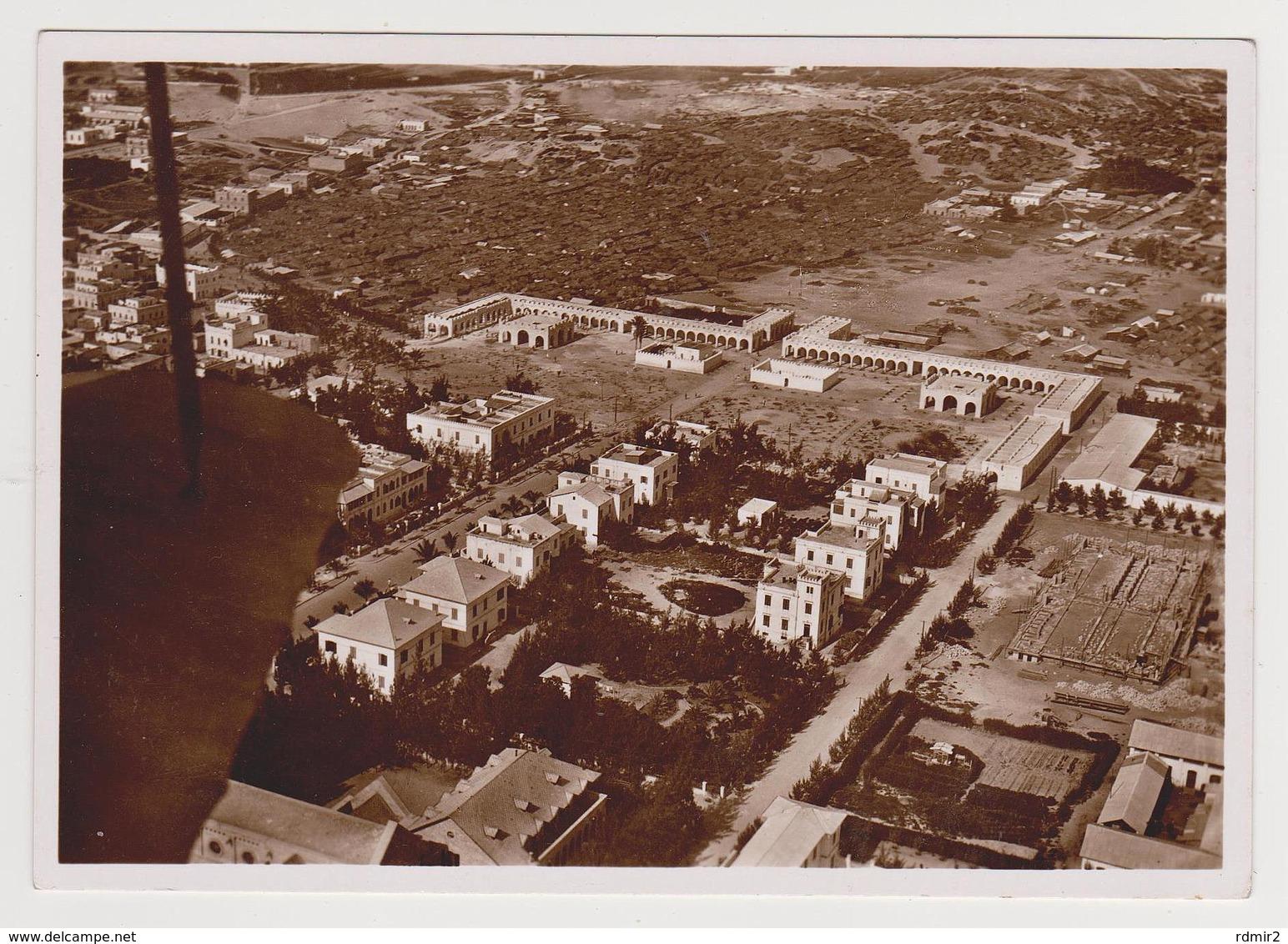 1802/ MOGADISCIO, Somalia Italiana. Mercato. Market. Marché. Air View.- Non écrite. Unused. No Escrita. Non Scritta. - Somalia