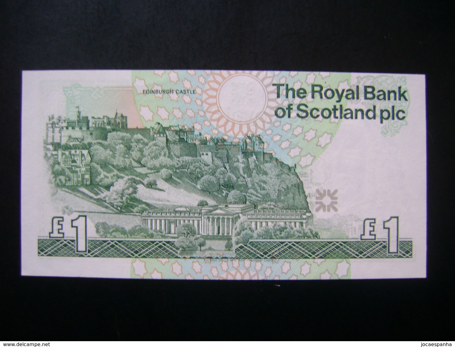 "SCOTLAND - BANK NOTE ""WITHOUT FOLDING"" PERFECT - 1 Pound"