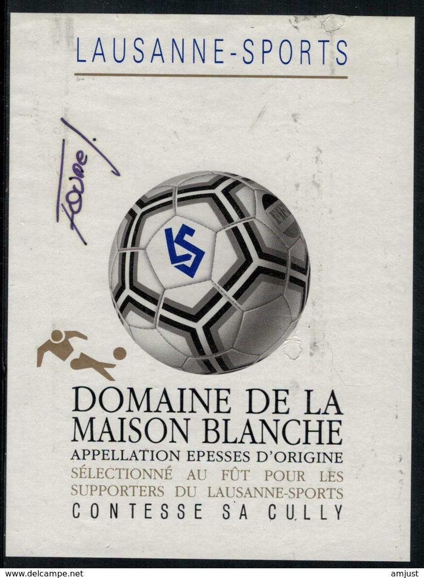 Etiquette De Vin // Epesses, Football, Lausanne-Sports - Football