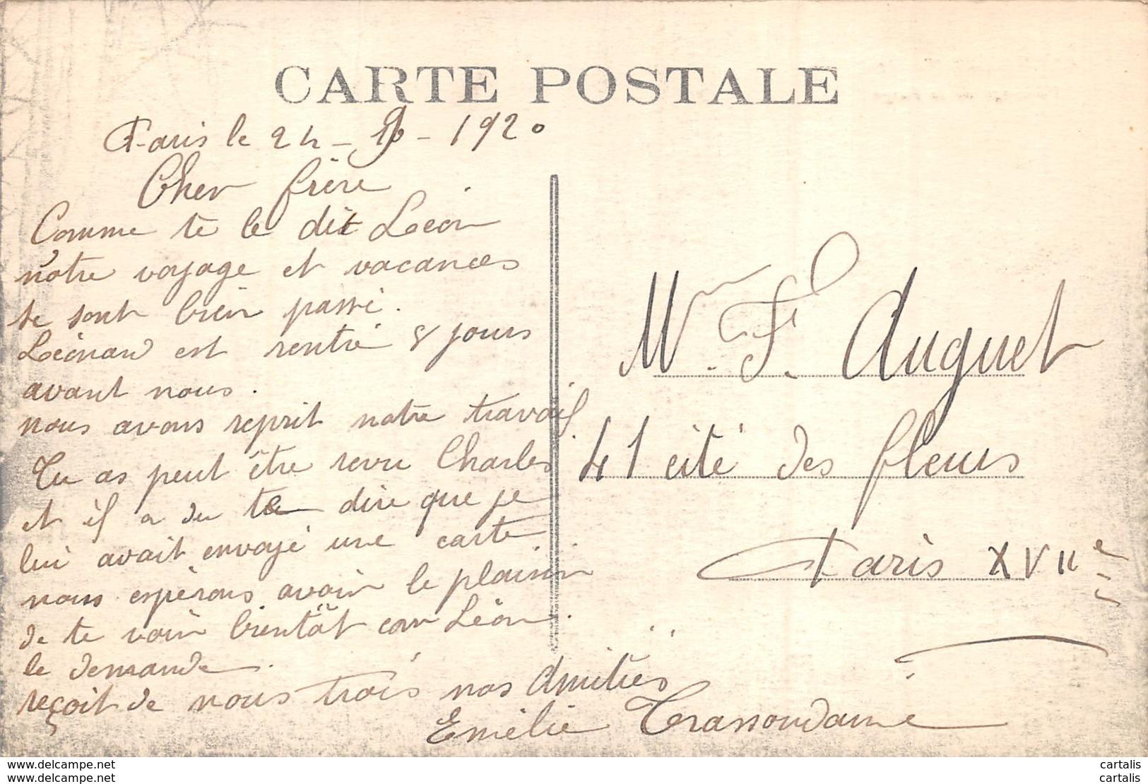 19-CHAMBERET-PATURAGE A LA FARGE-N°C-417-F/0185 - Autres Communes