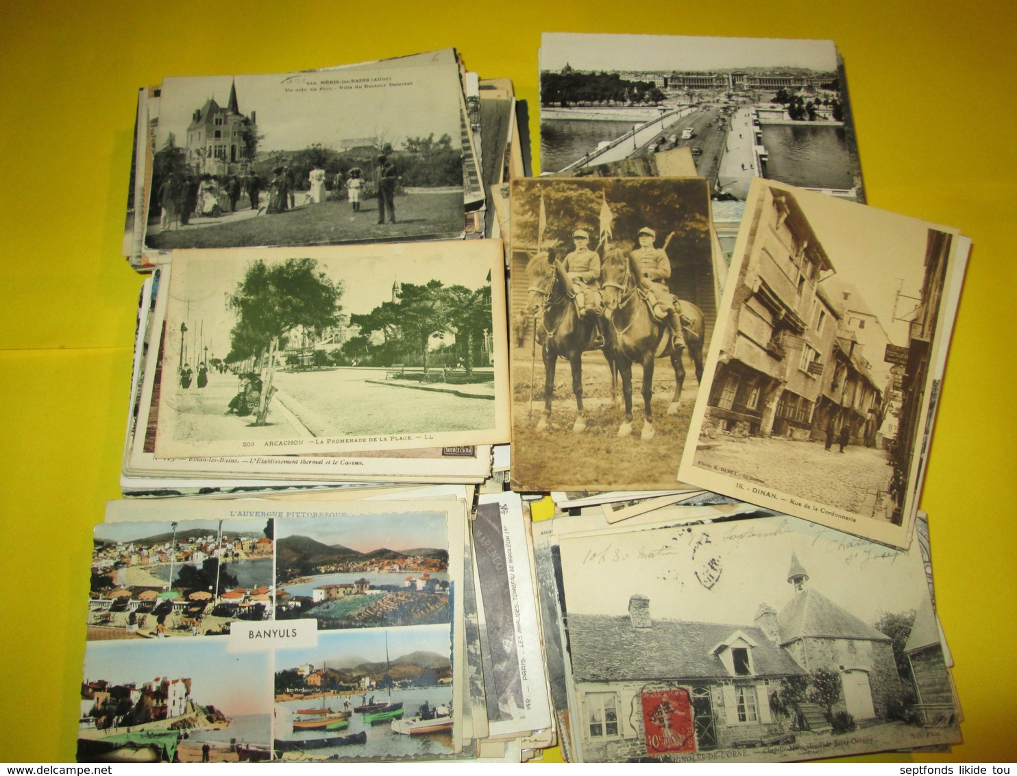 Départ 1 Centime  La CPA ..   Minimum 500 Cartes  Lot N° 9 (arrêt Complet De L'activité) - 500 Postcards Min.