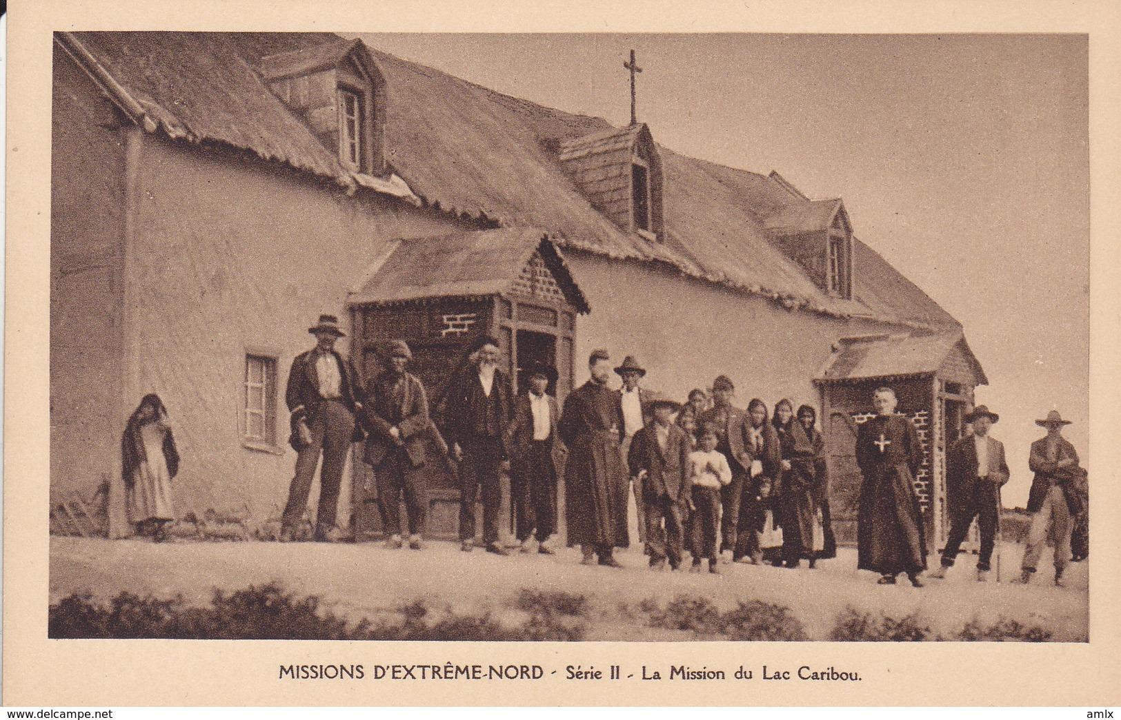 3 Cpa Mission Lac Caribou Non écrites Tbe - Canada