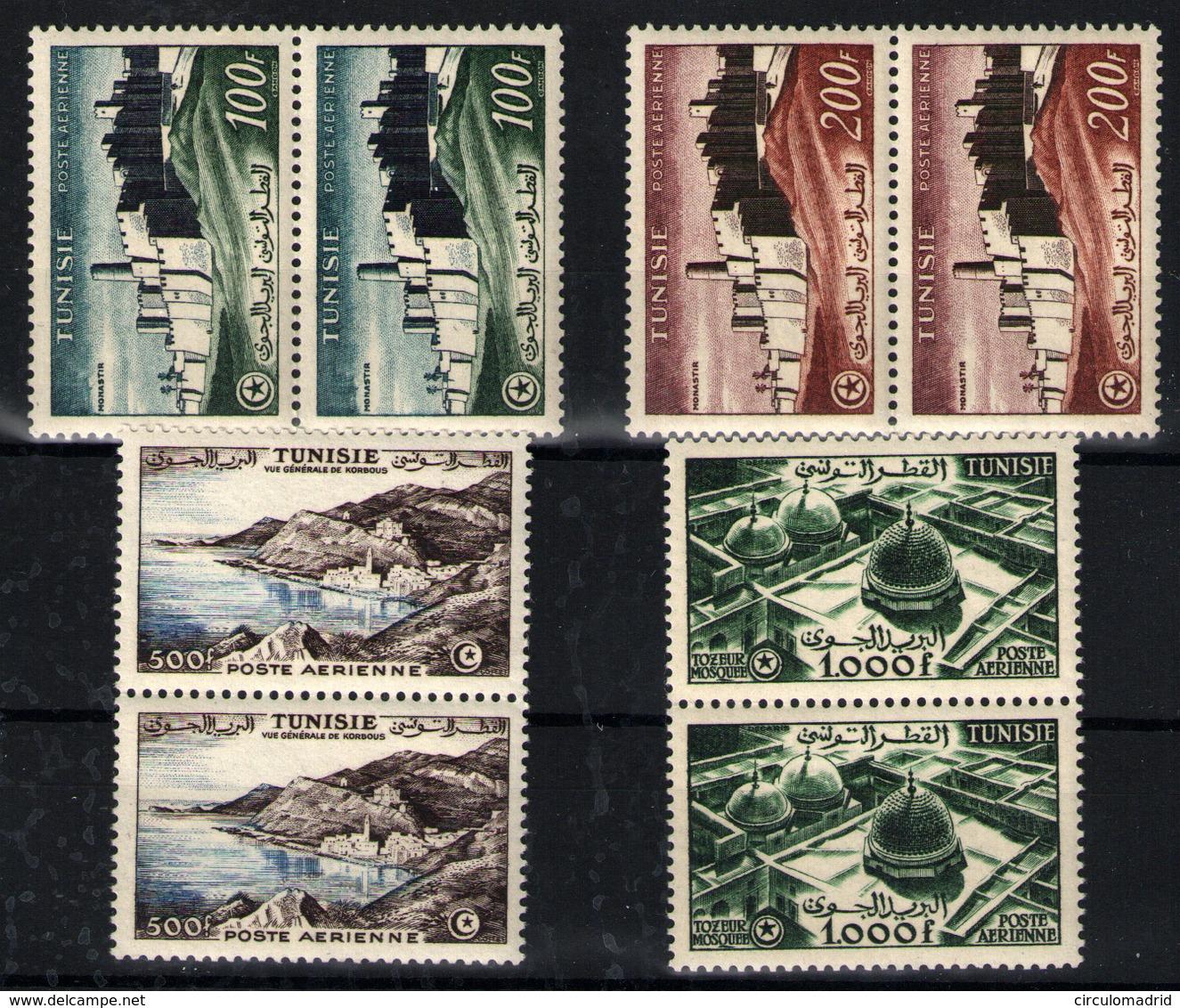 Túnez Nº 18/21. Año 1953/4 - Tunisia (1956-...)