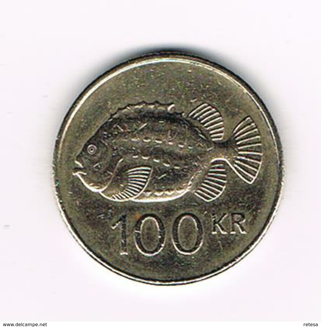 //   IJSLAND  100 KRONUR 2004 - Islandia