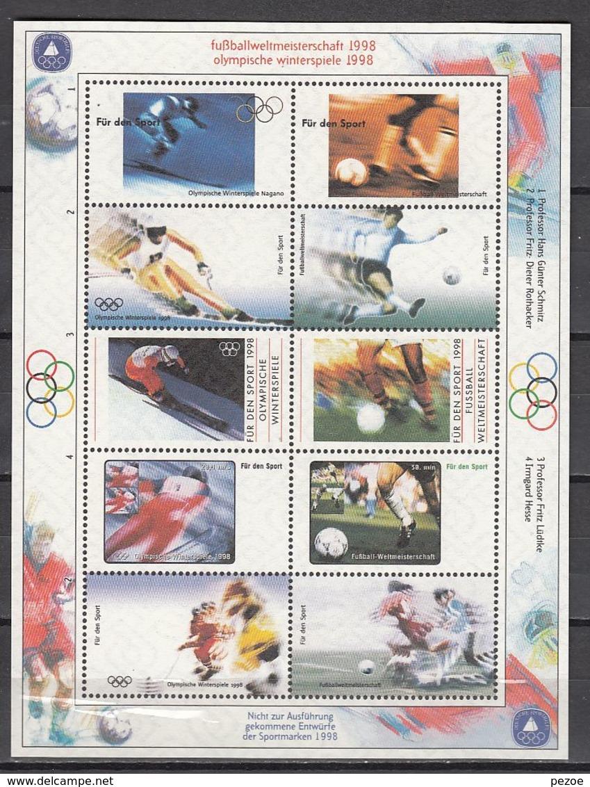 Olympia 1998: Germany VignBl ** - Hiver 1998: Nagano