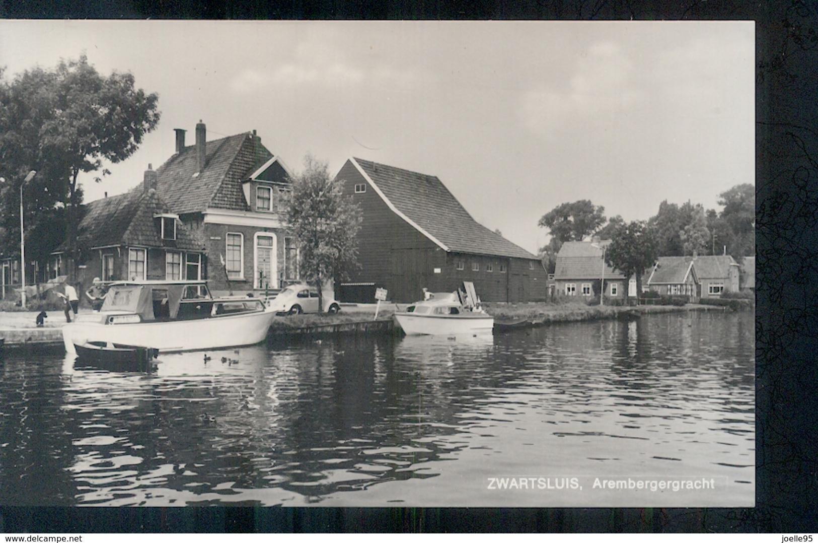 Zwartsluis - Arembergergracht - 1960 - Nederland