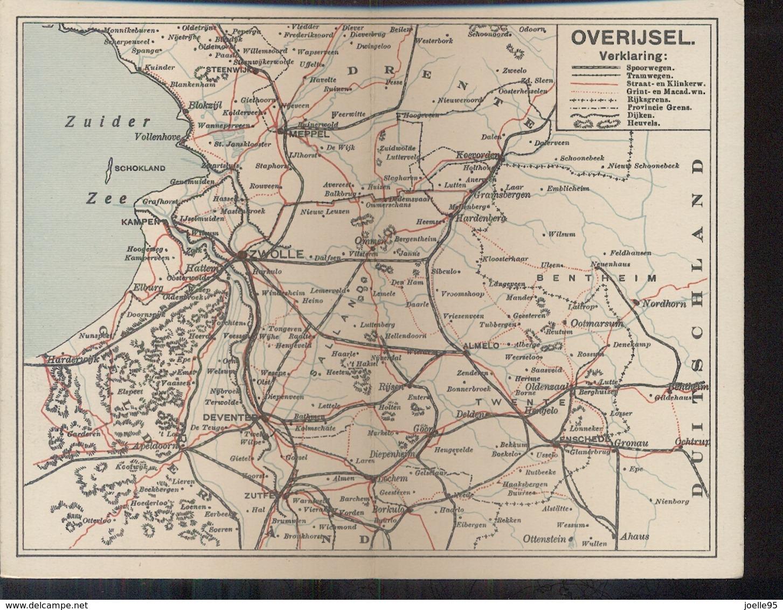 Overijssel - Burgers Rijwielen - Reklamekaart - 1910 - Zonder Classificatie