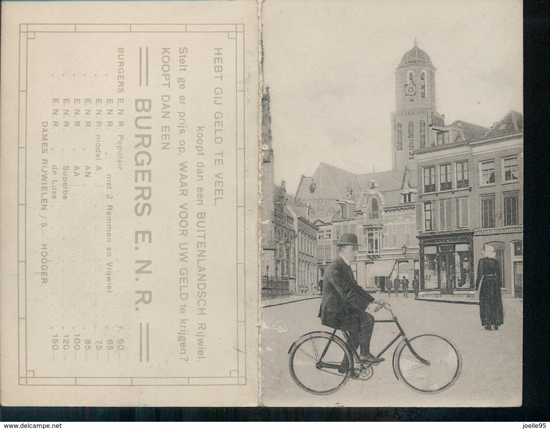 Overijssel - Burgers Rijwielen - Reklamekaart - 1910 - Nederland