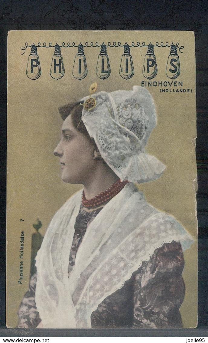 Eindhoven - Philips - Reklamekaart - 1910 - Eindhoven
