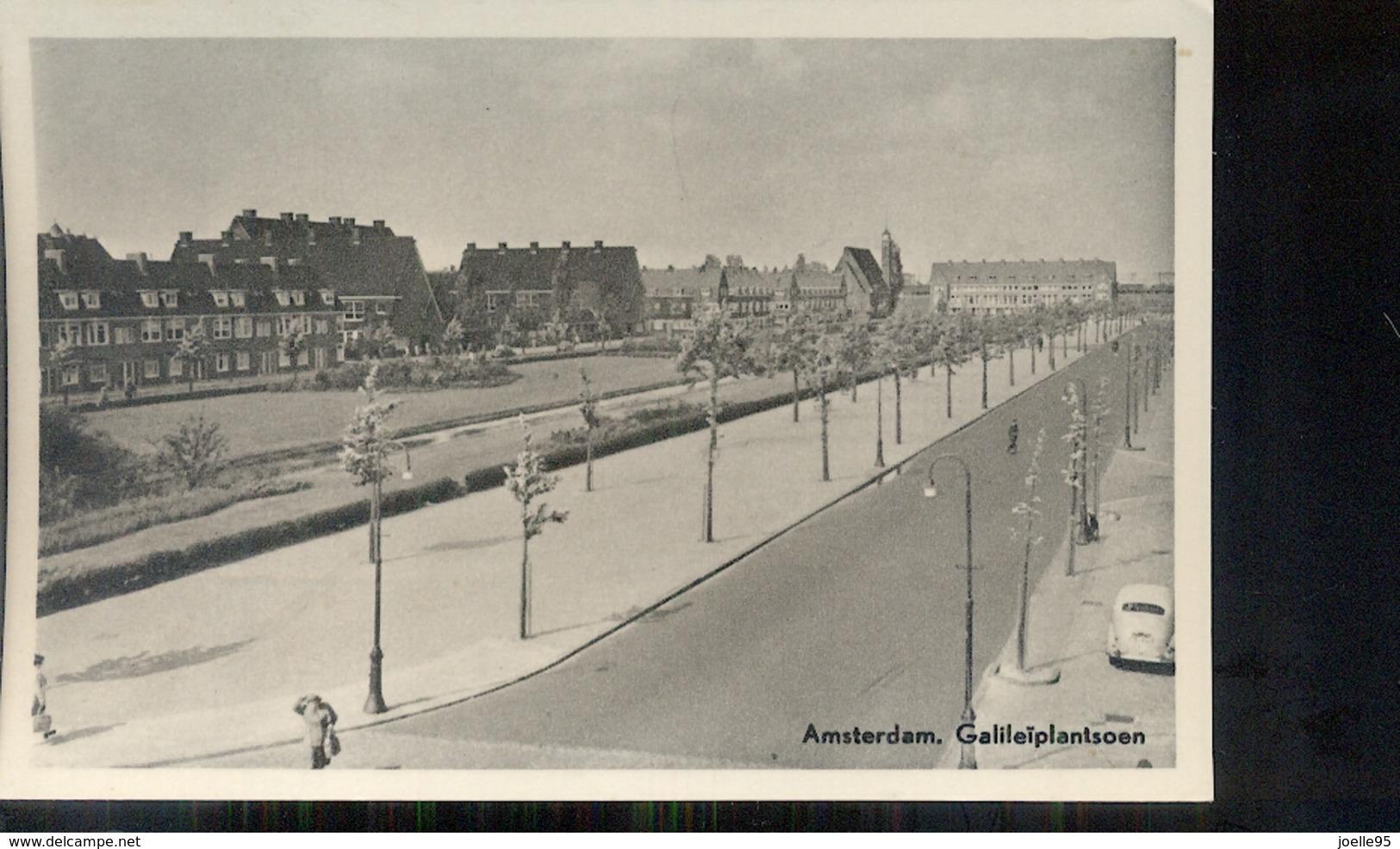 Amsterdam - Galileïplantsoen - 1947 - Amsterdam
