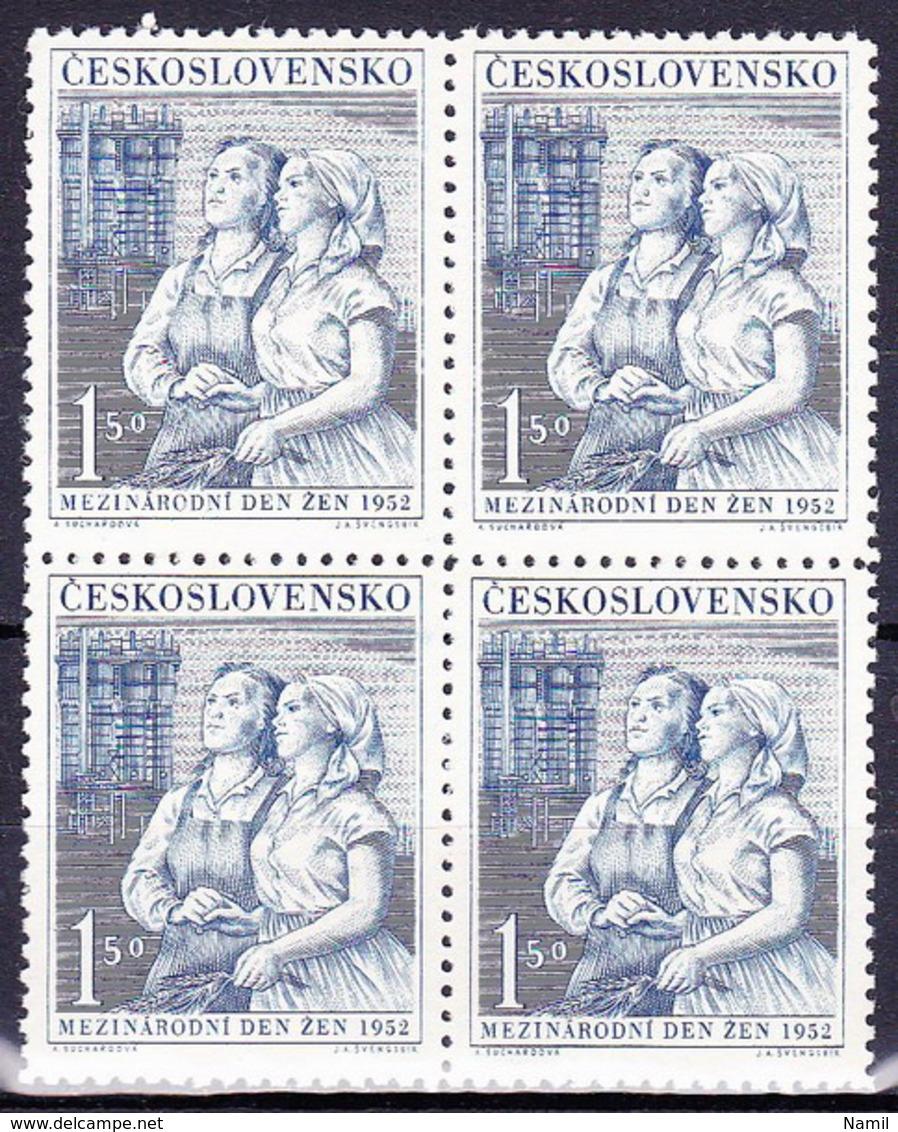 ** Tchécoslovaquie 1952 Mi 721 (Yv 621), (MNH) - Ungebraucht