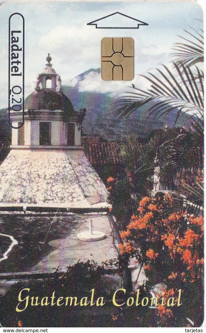 TARJETA DE GUATEMALA DE UNA CÚPULA DE LA ANTIGUA - Guatemala