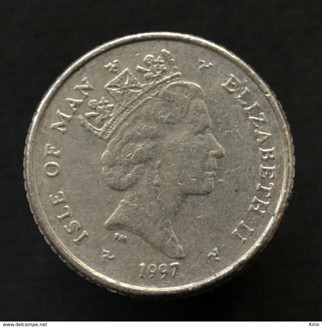 Isle Of Man 5 Pence 1996-97, Km590, Random Age. Coin Golf - Münzen