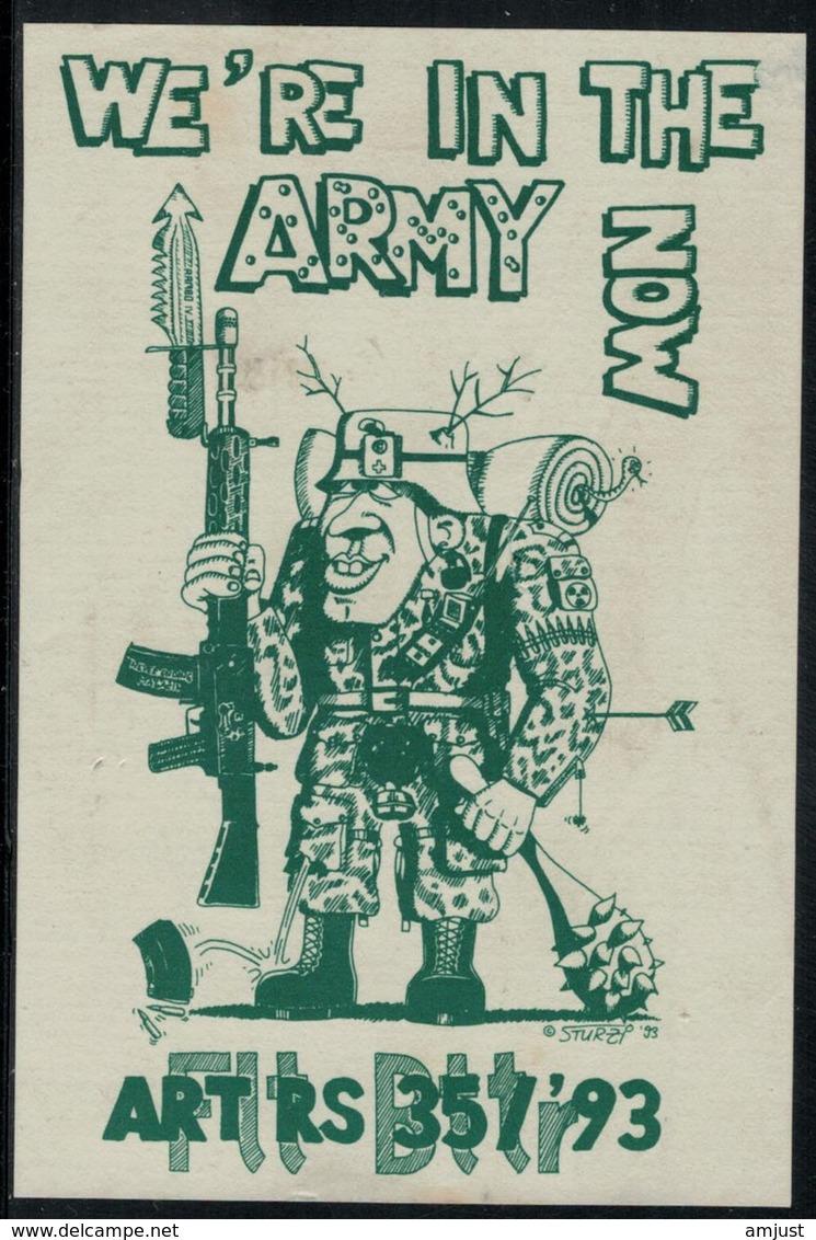 Etiquette De Vin // Militaire, ART RS 35/93 - Militaire