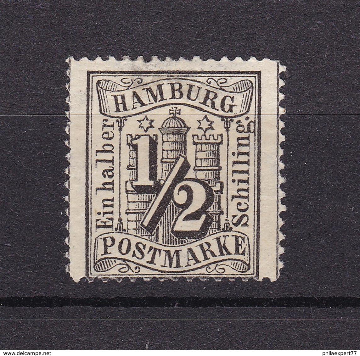 Hamburg - 1864 - Michel Nr. 10 - Ungebr. - Hamburg