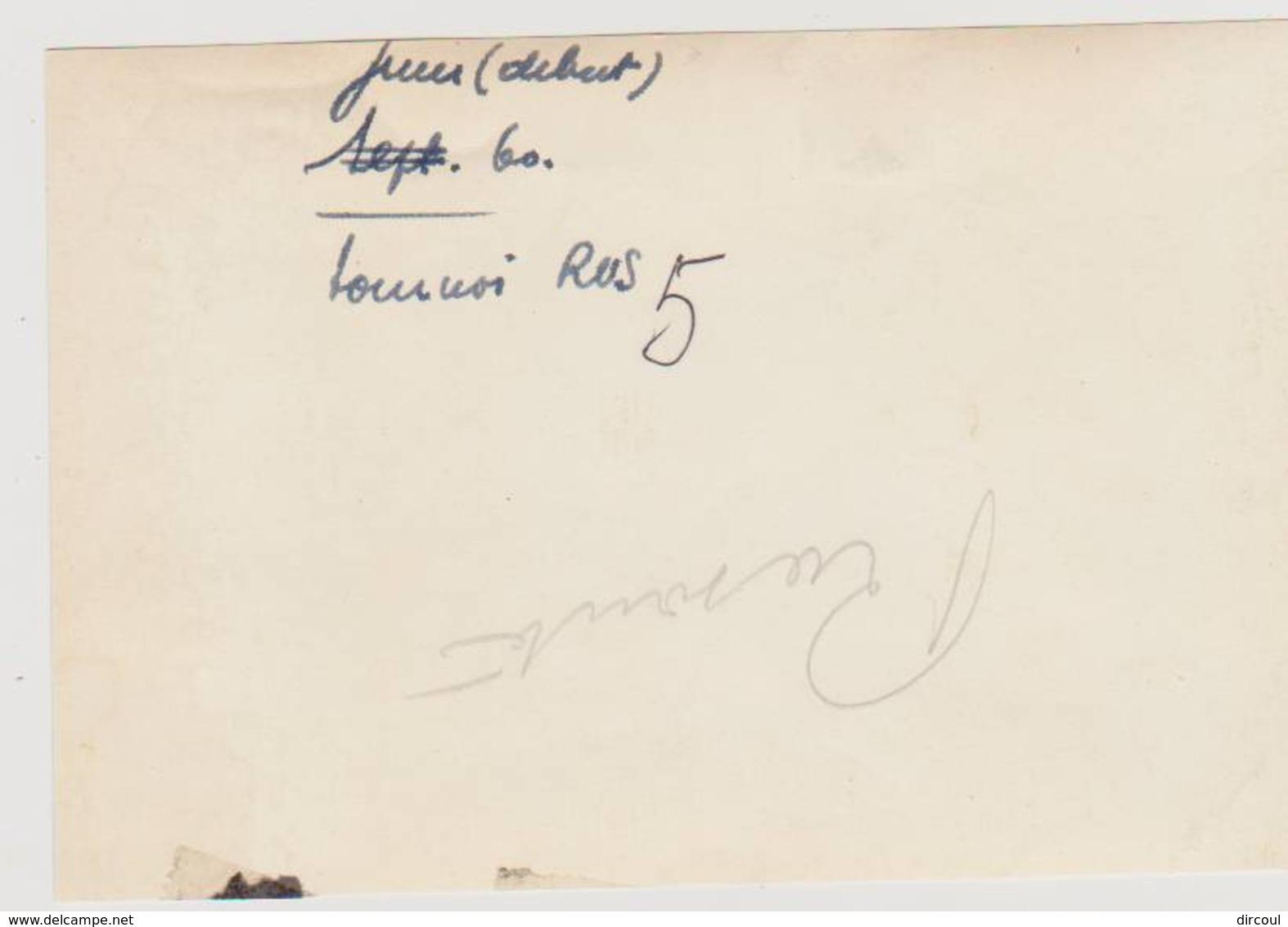 41081  -  Hockey  Sur  Gazon  1960  -  Photo  13,5  X  9 - Cartes Postales