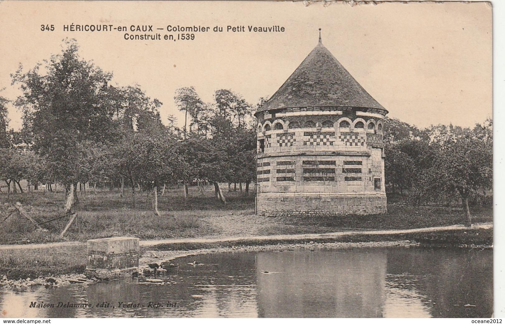 76 Hericourt En Caux. Colombier Du Petit Veauville - France