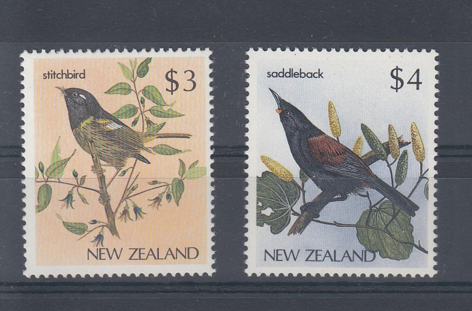 Neuseeland Michel Cat.No. Mnh/** 960/961 Birds - Nuevos
