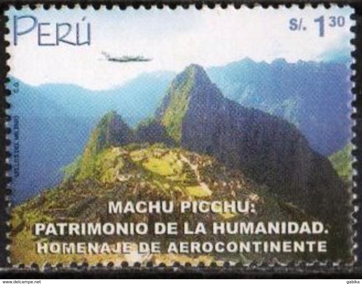 Peru 2000 Scott 1258 MNH, Machu Picchu, Landscape - Peru