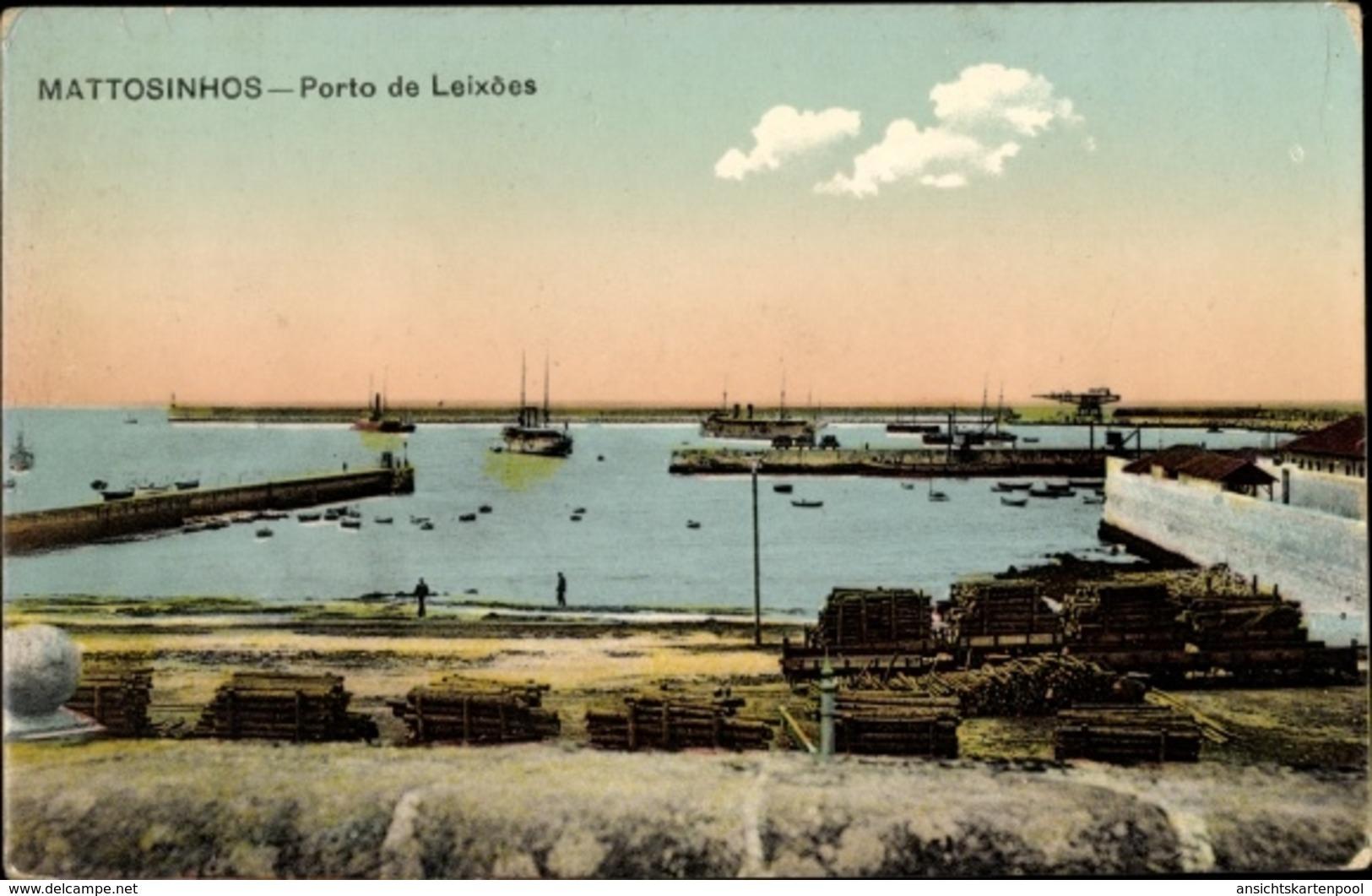 Cp Mattosinhos Portugal, Porto De Leixoes, Hafenpartie - Portugal