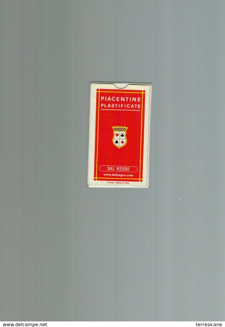 DAL NEGRO PIACENTINE PLASTIFICATE - Carte Da Gioco