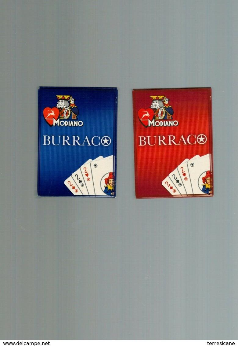 MODIANO BURRACO 2 MAZZI DA 54 CARTE - Carte Da Gioco