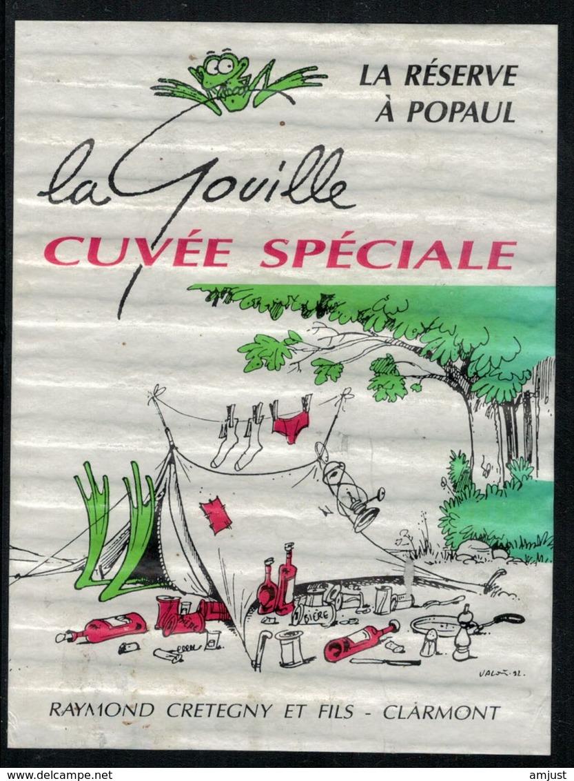 Etiquette De Vin // Cuvée Spéciale, La Gouille - Etiquettes