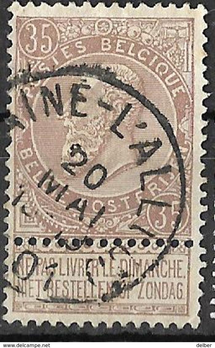 9W-717:N°61:E11: BRAINE-L'ALLEUD - 1869-1888 Lion Couché