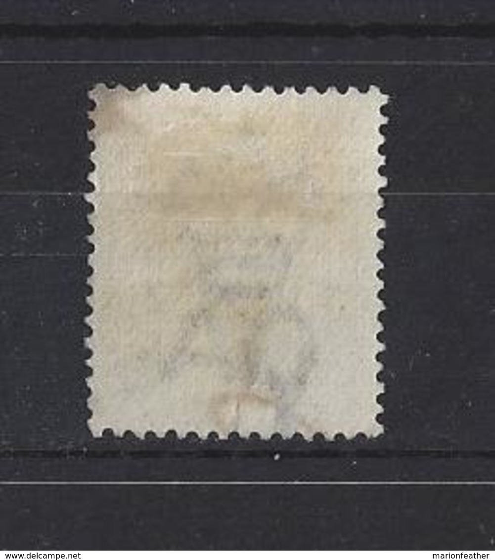 GRENADA.....QUEEN VICTORIA.(1837-01)....1d ON 8d.......SG46...(CAT £19.)....USED. - Grenada (...-1974)
