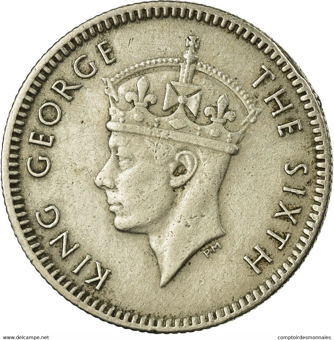 Monnaie, MALAYA, 5 Cents, 1950, TB+, Copper-nickel, KM:7 - Malaysie