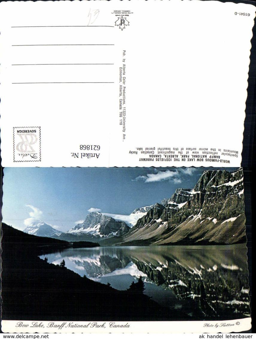 621868,Bow Lake Banff National Park Alberta Canada - Kanada