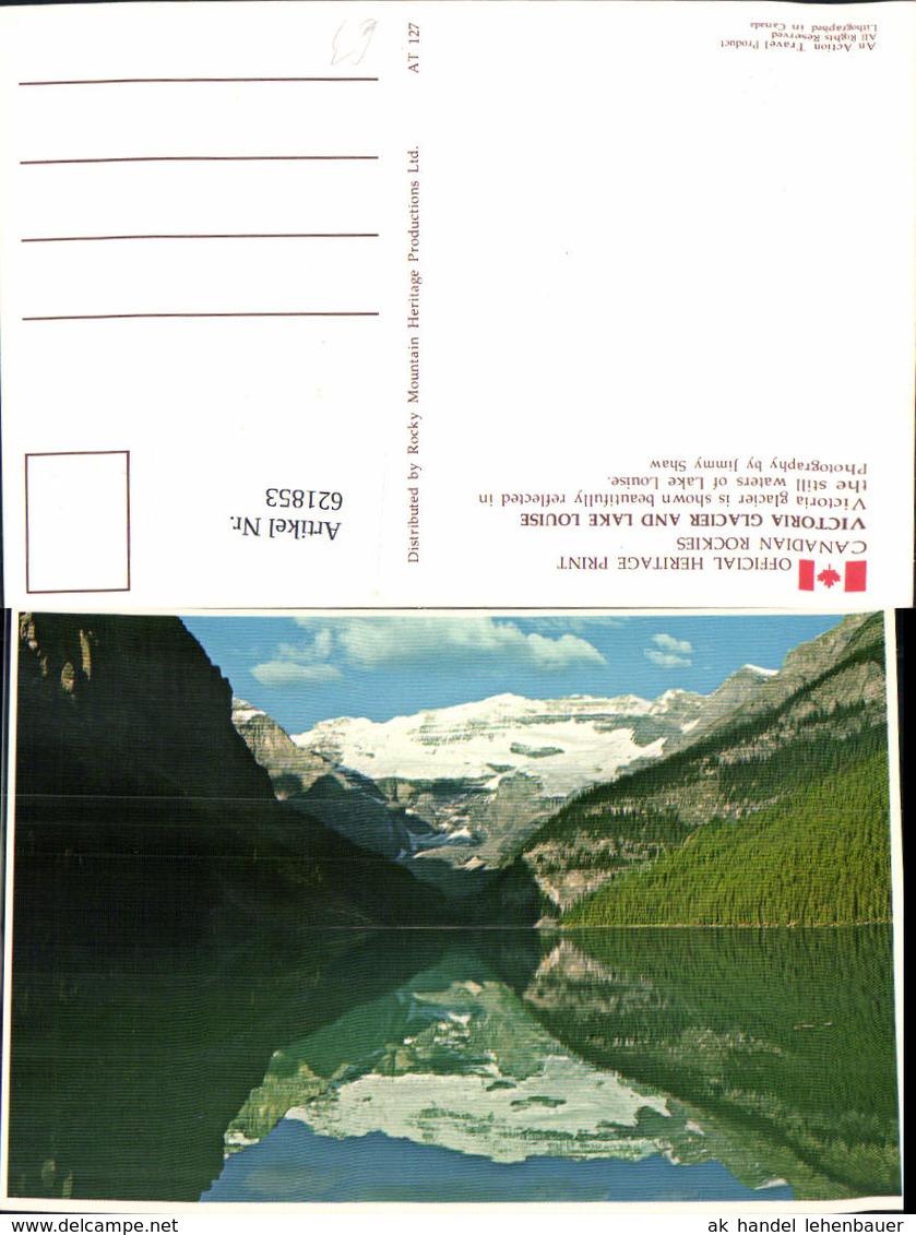 621853,Victoria Glacier And Lake Louise Canadian Rockies Canada - Kanada
