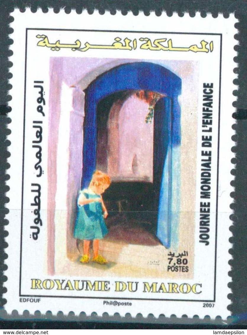 MOROCCO JOURNEE DE L' ENFANCE 2007 - Morocco (1956-...)