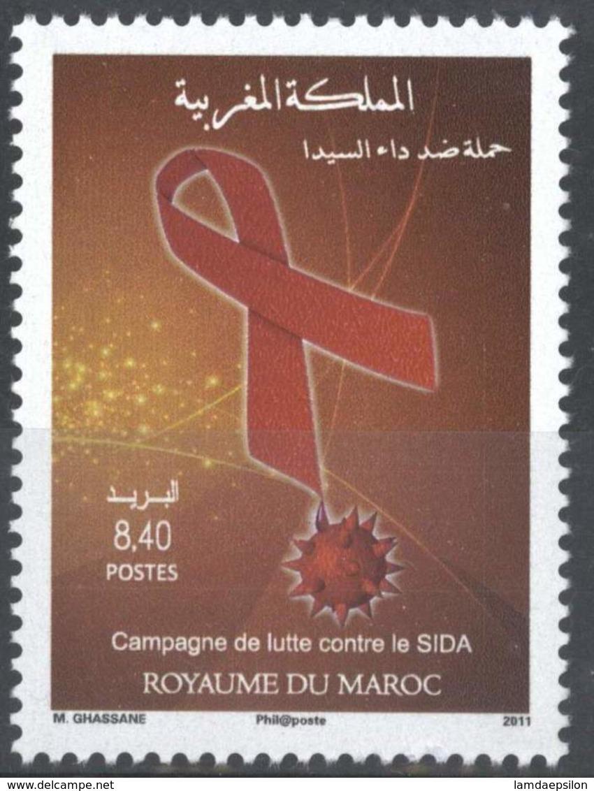 MOROCCO CAMPAGNE DE LUTTE CONTRE LE SIDA 2011 - Morocco (1956-...)