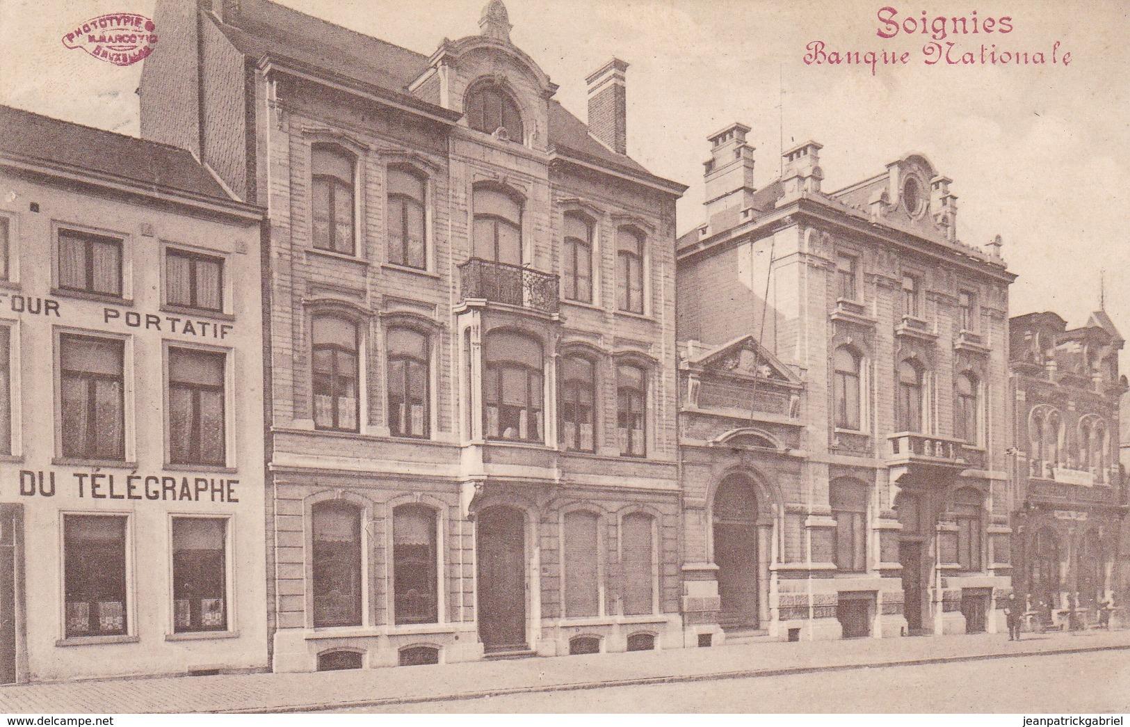 619 Soignies Banque Nationale - Soignies