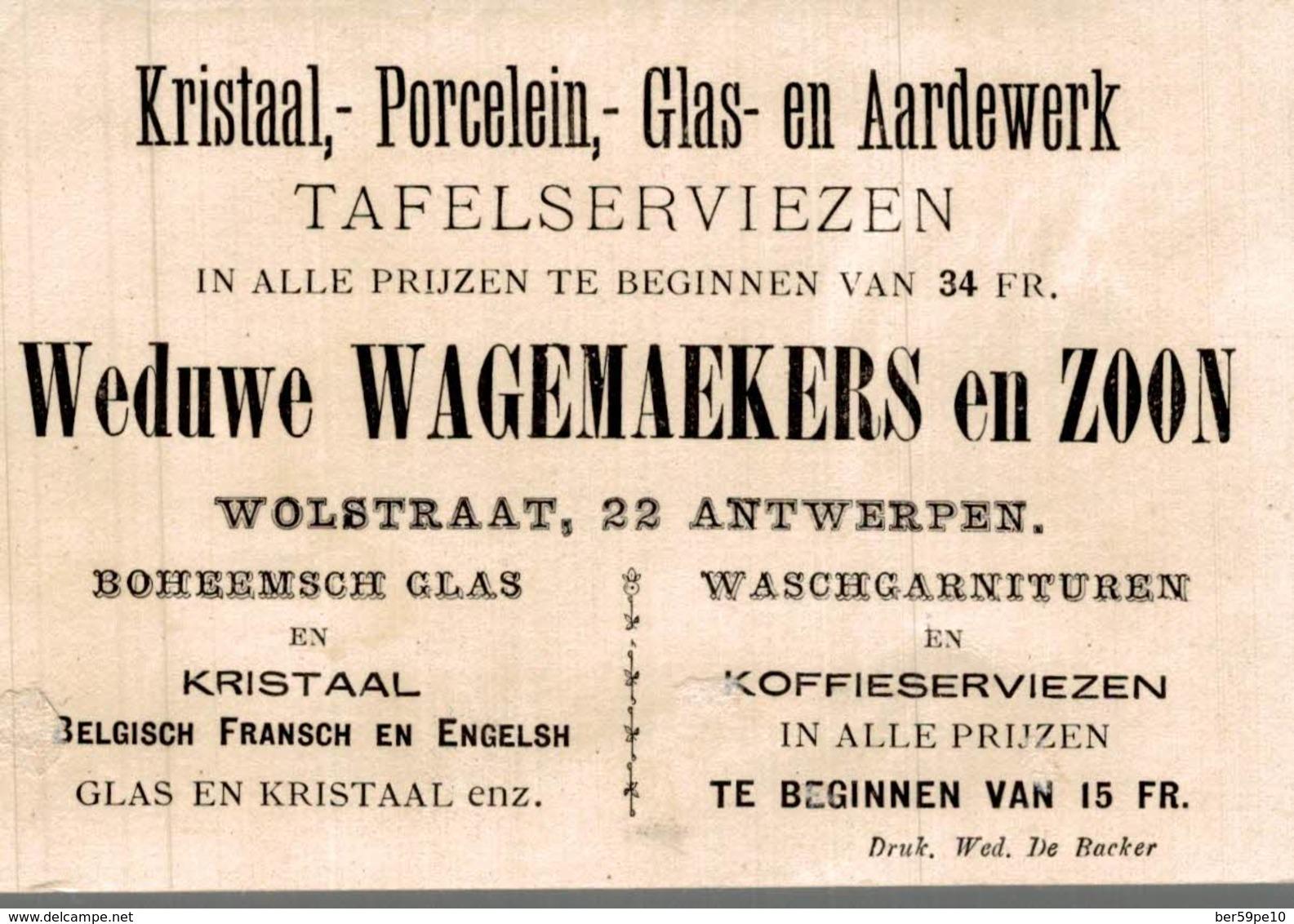 CHROMO KRISTAAL PORCELEIN GLAS EN AARDEWERK ANTWERPEN  LE THEATRE DE MARIONNETTES - Other