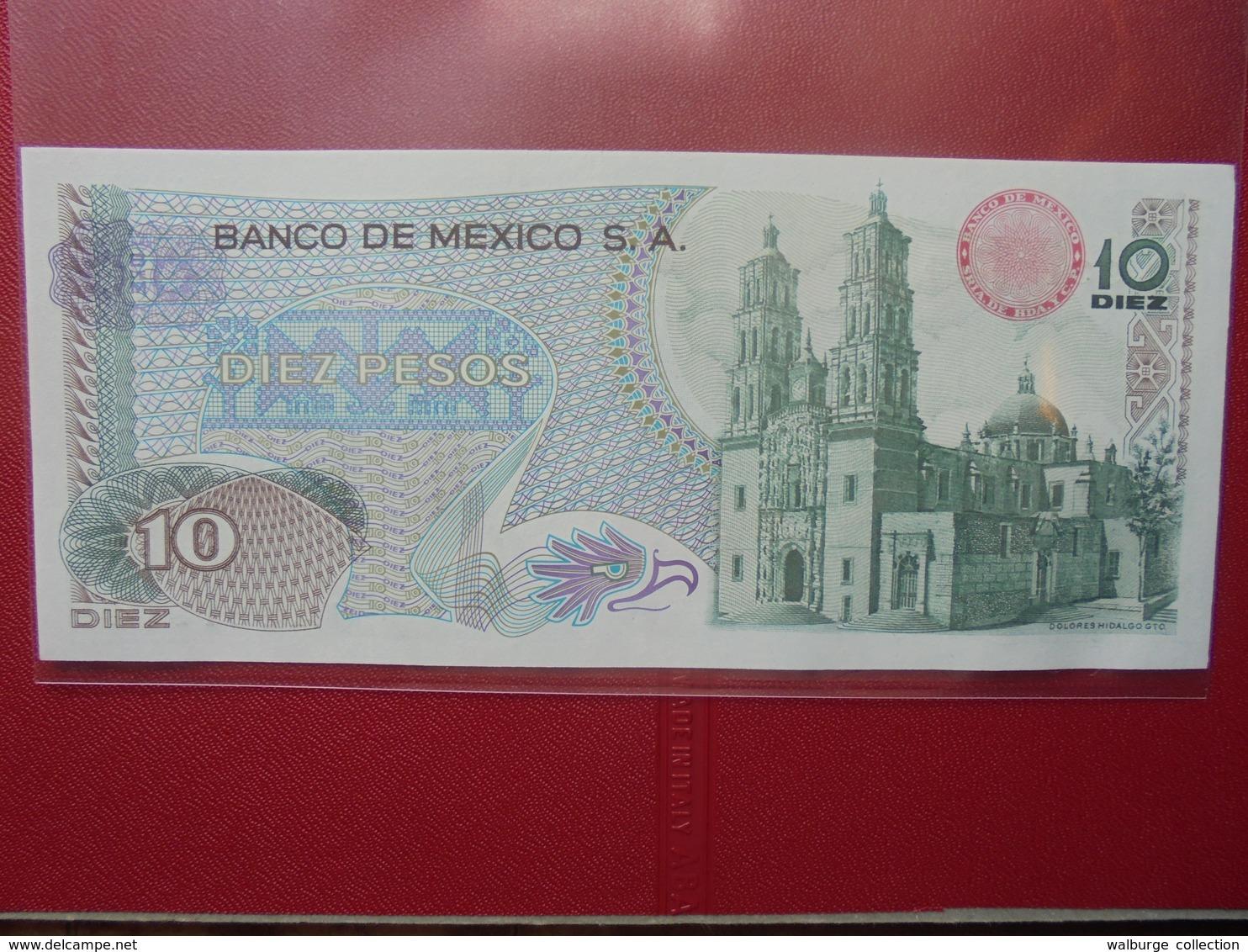 MEXIQUE 10 PESOS 1975 PEU CIRCULER/NEUF - Mexico