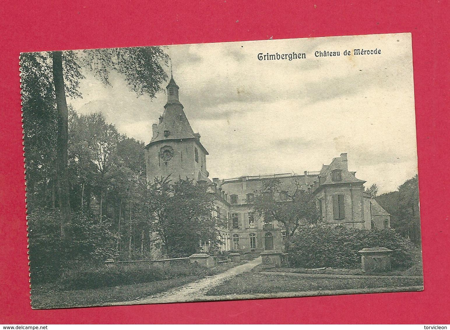 C.P. Grimbergen  = Château  De  Mérode - Grimbergen