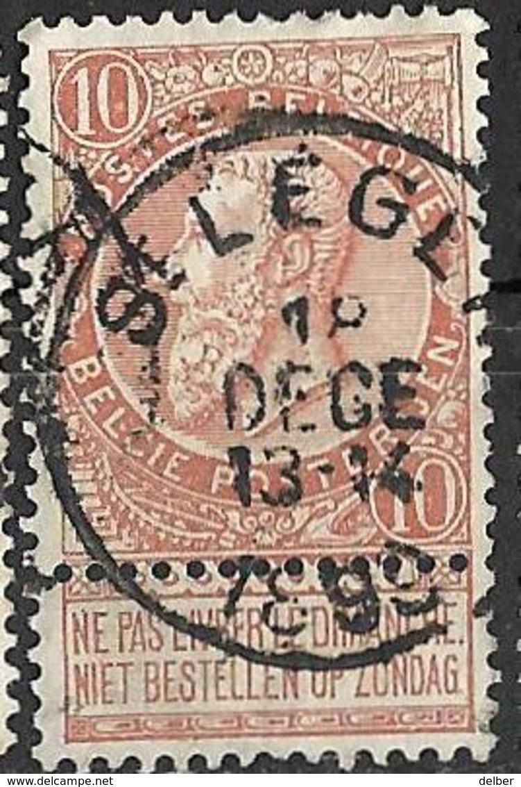 9W-680:N°57:E11: ST LEGER - 1893-1900 Fine Barbe