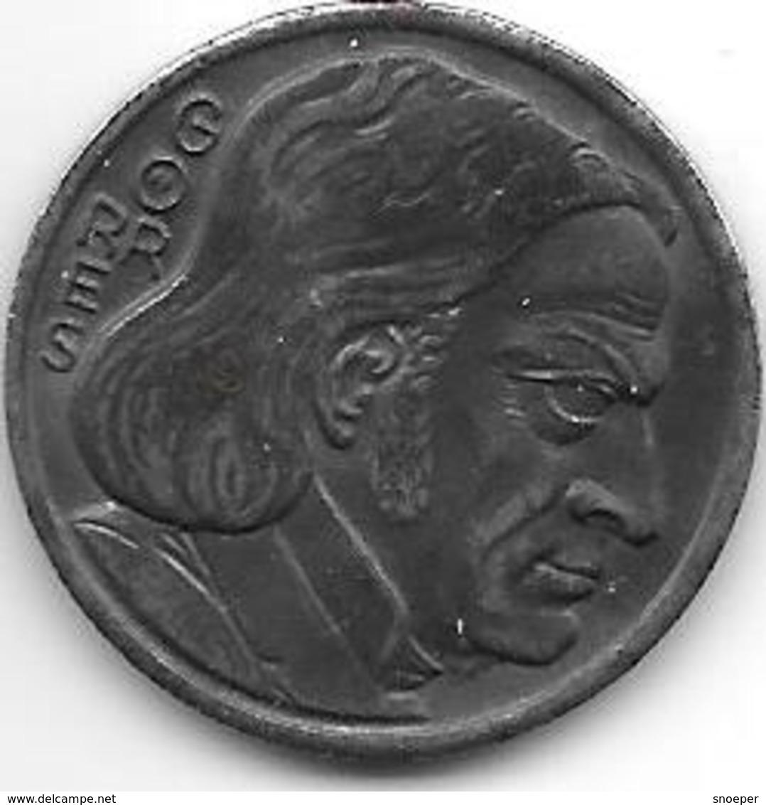 Notgeld Coblenz 10 Pfennig 1921 Eine Groschen Gorres Fe  2512.10 - [ 2] 1871-1918 : Impero Tedesco