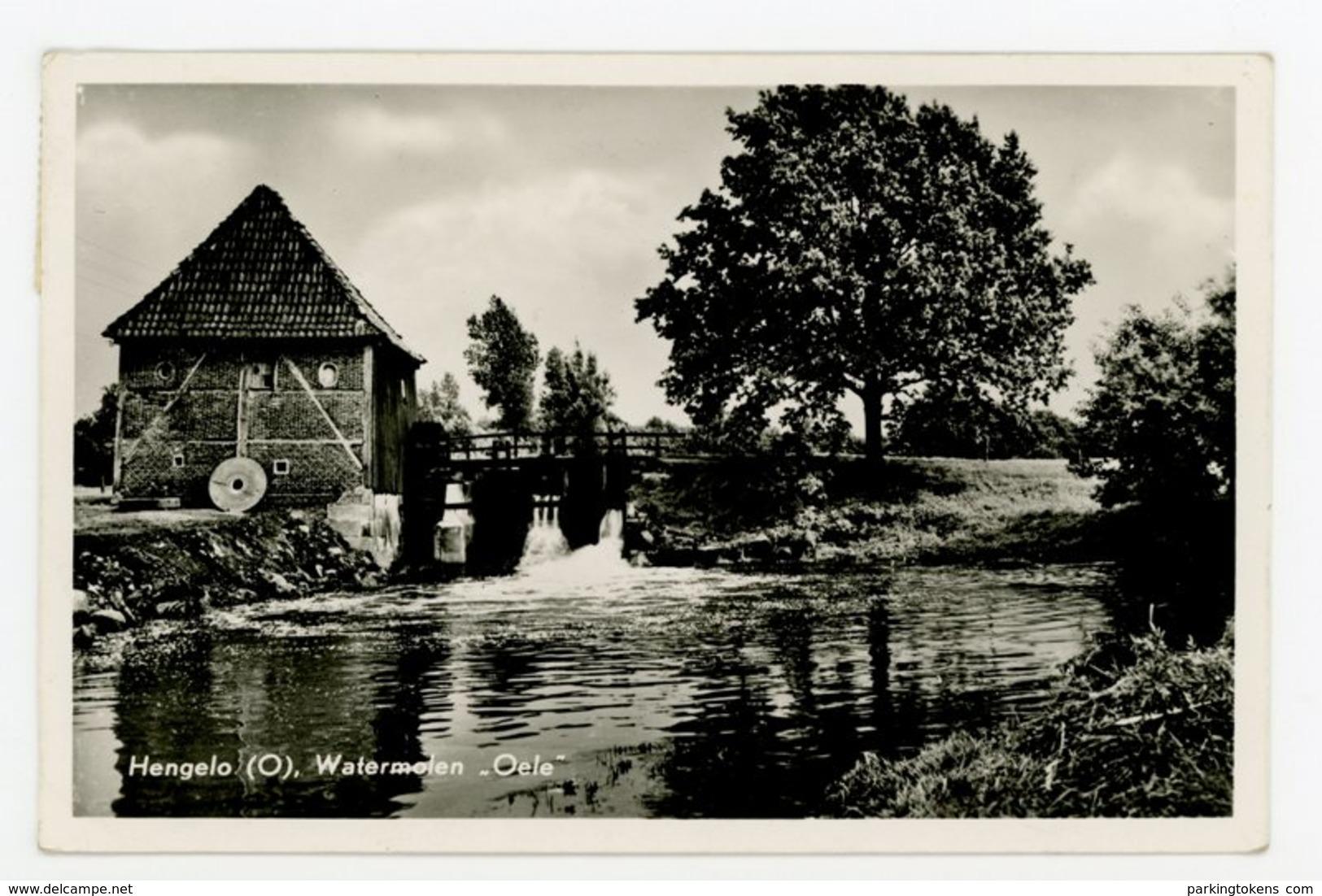 D126 - Hengelo Watermolen Oele - Molen - Moulin - Mill - Mühle - Hengelo (Ov)