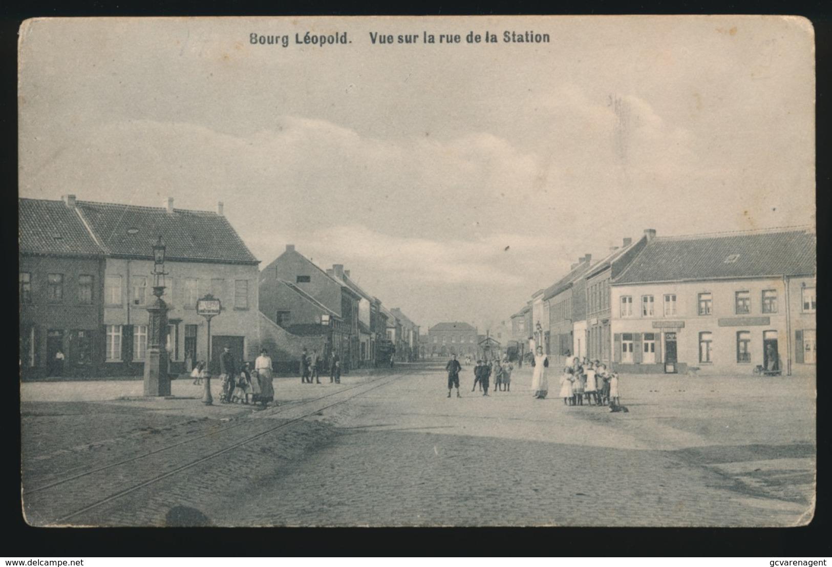 CAMP DE BEVERLOO   ROUTE DU CANAL - Leopoldsburg (Beverloo Camp)