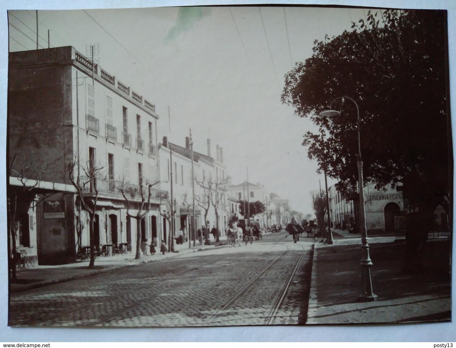 Algérie -  HUSSEIN- DEY - Centre Du Village Place De La Mairie -- Photo Ancienne Début XX ème - Lieux