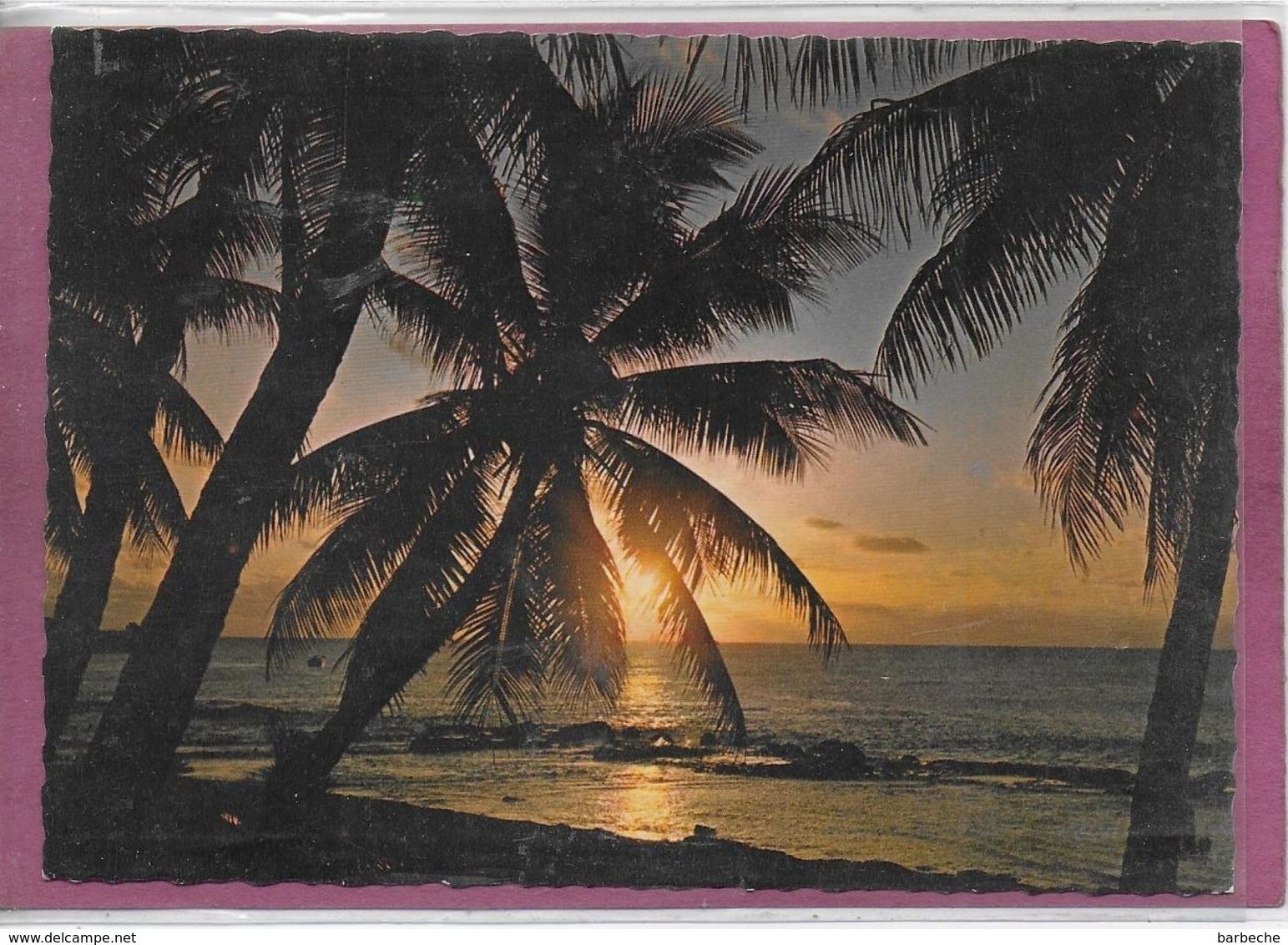 BORA BORA Coucher De Soleil - Tahiti
