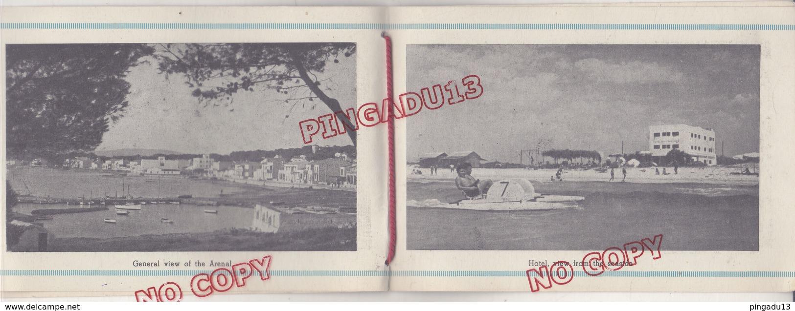 Au Plus Rapide Publicité Hôtel San Francisco Islas Baleares Majorca Playa Arenal Moulin Molen - Publicités