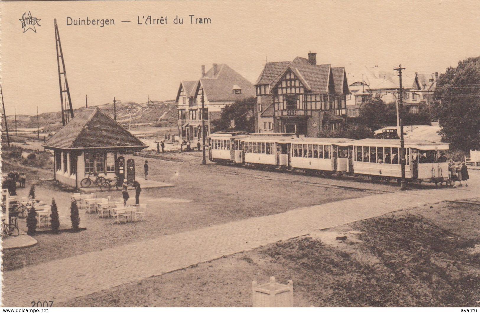 DUINBERGEN / TRAMHALTE / ARRET DU TRAM / TRAM /  TRAMWAYS - Knokke