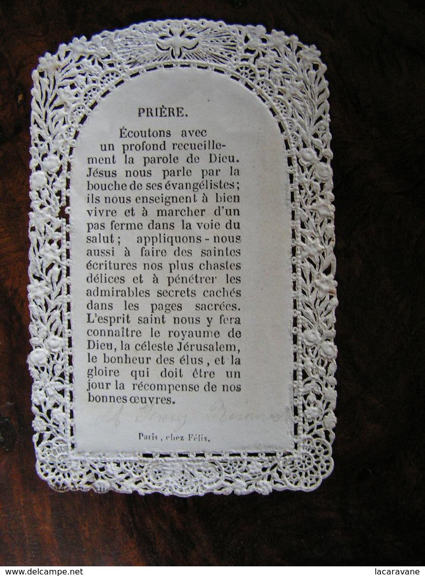 Holy Card Image Pieuse Canivet DParis Chez Felix Saint Luc  Ref 7 - Images Religieuses